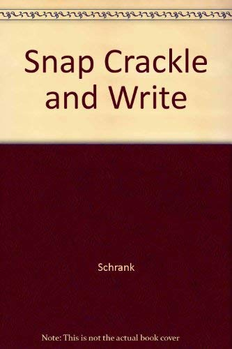 9780844252360: Snap Crackle and Write
