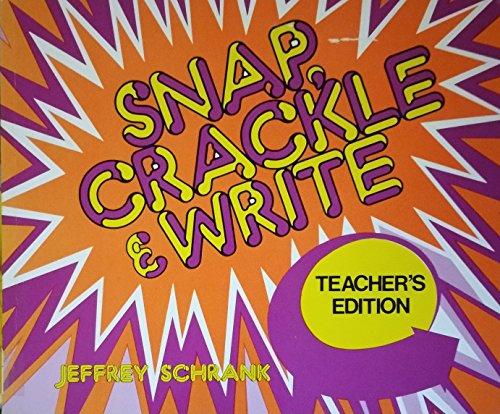 9780844252384: Snap, Crackle and Write (Teacher's Edition)