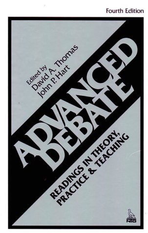 9780844252520: Advanced Debate : Readings in Theory, Practice, and Teaching