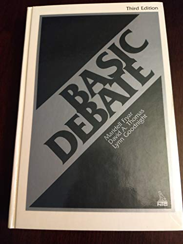 9780844252575: 59810 Basic Debate 3rd Ed Send New Ed