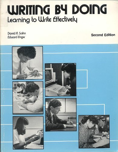 9780844253466: Writing by Doing: Learning to Write Effectively