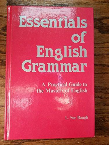 Essentials of English Grammar (English S.)