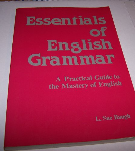 9780844254456: Essentials of English Grammar