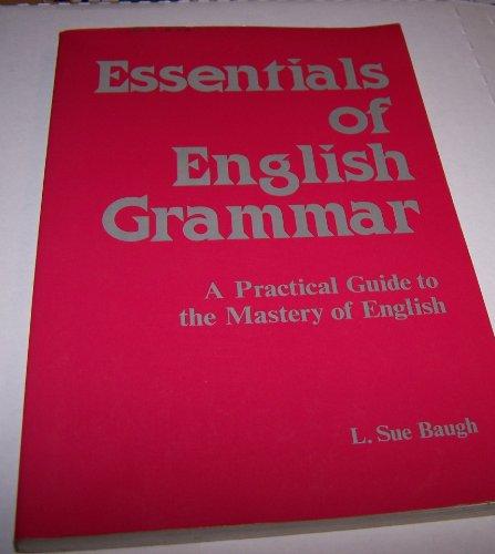 9780844254456: Essentials of English Grammar