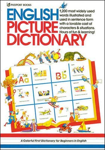 9780844254470: English Picture Dictionary