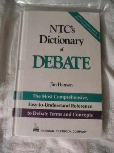 Ntc's Dictionary of Debate (General): Jim Hanson