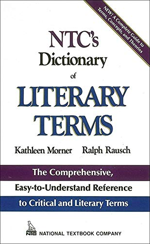 9780844254647: NTC's Dictionary of Literary Terms