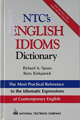 9780844254784: N.T.C.'s English Idioms Dictionary