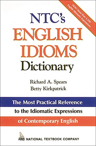 9780844254791: NTC's English Idioms Dictionary (McGraw-Hill ESL References)