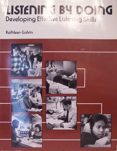 9780844255309: Listening by Doing: Developing Effective Listening Skills
