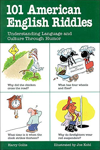 9780844256061: 101 American English Riddles : Understanding Language and Culture Through Humor