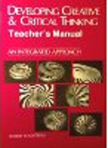 9780844256818: Developing Creative & Critical Thinking: Teacher's Manual