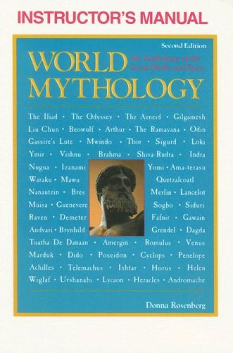 9780844257686: Instructor's Manual for World Mythology: An Anthology of the Great Myths and Epics (Second Edition)
