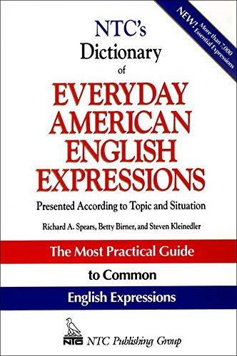 9780844257792: NTC's Dictionary of Everyday American English Expressions (McGraw-Hill ESL References)