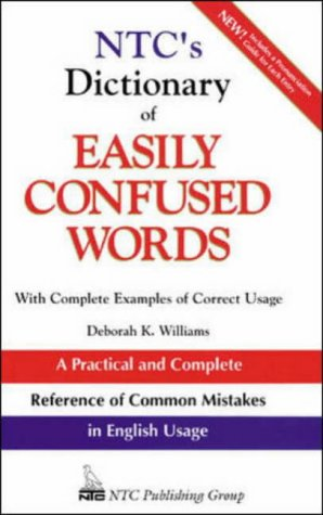 9780844257860: Ntc's Dictionary Easily Confused Words: With Complete Examples of Correct Usage (National Textbook Language Dictionaries)