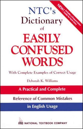 9780844257877: NTC's Dictionary of Easily Confused Words
