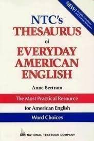 9780844258256: Ntc's Thesaurus of Everyday American English (National Textbook Language Dictionaries)