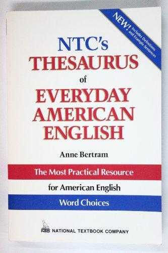 9780844258263: Ntc's Thesaurus of Everyday American English