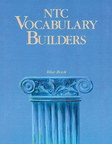 9780844258430: NTC Vocabulary Builders, Blue Book - Reading Level 10.0