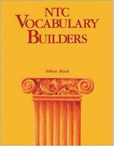 9780844258485: NTC Vocabulary Builders, Yellow Book - Reading Level 12.0