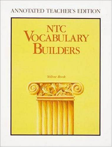 9780844258492: NTC Vocabulary Builders, Yellow Book