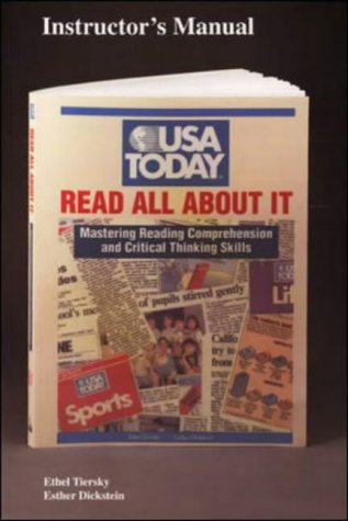 9780844258713: Mastering Reading Comprehension and Critical Thinking Skills