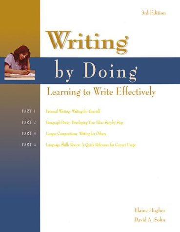 9780844259093: Writing by Doing Learning to Write Effectively, 3rd Edition