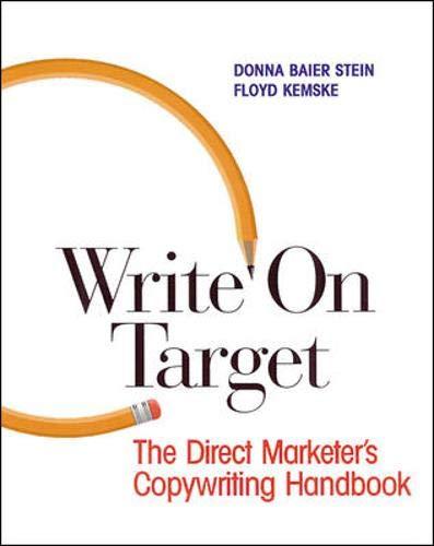 9780844259147: Write On Target: Direct Marketer's Copywriting Handbook (NTC: LANGUAGE ARTS)