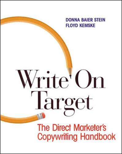 Write on Target: Direct Marketer's Copywriting Handbook
