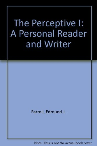 9780844259574: The Perceptive I: A Personal Reader and Writer