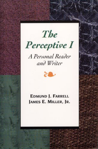 9780844259581: The Perceptive I: A Personal Reader and Writer