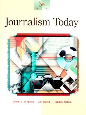 9780844259758: Journalism Today