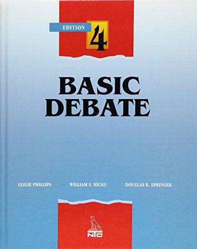 9780844259819: Basic Debate, Student Edition (DEBATE SERIES)