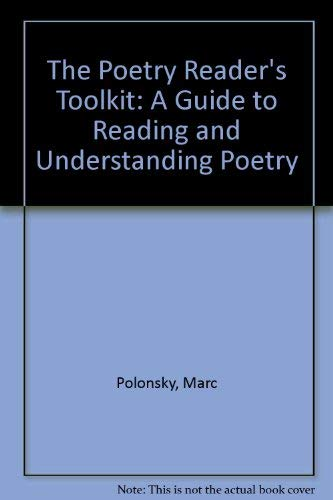 9780844259895: The Poetry Reader's Toolkit: A Guide to Reading and Understanding Poetry