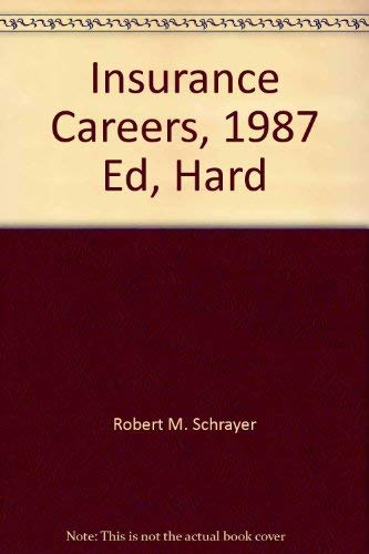 9780844260082: Insurance Careers, 1987 Ed, Hard (VGM career books)