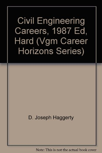 9780844261645: Opportunities in Civil Engineering Careers (Vgm Career Horizons Series)