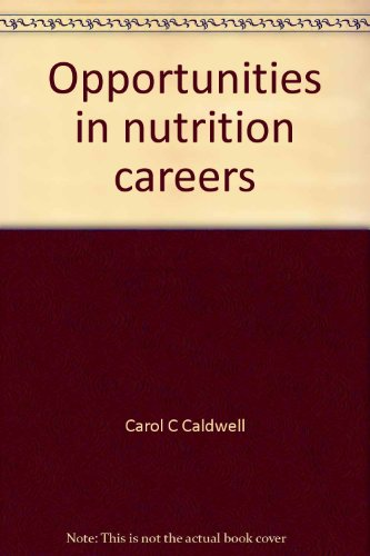 9780844261720: Opportunities in nutrition careers