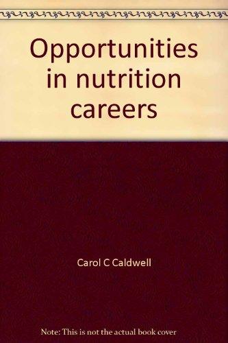 9780844261720: Opportunities in nutrition careers