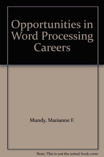 9780844262000: 81646 Word Processing, 85 Ed Hd Op, Send New