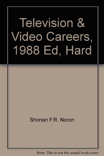 9780844264912: Television & Video Careers, 1988 Ed, Hard