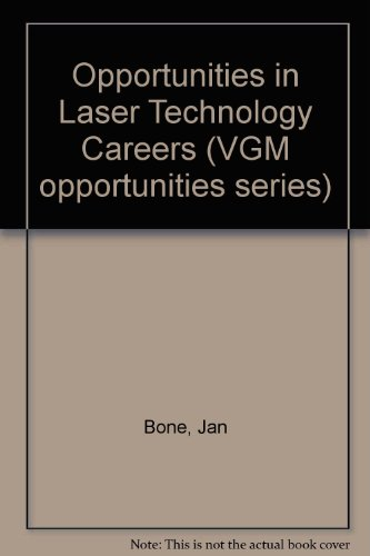 9780844265148: Opportunities in Laser Technology Careers (VGM opportunities series)