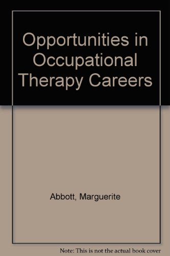 9780844265629: Opportunities in Occupational Therapy Careers