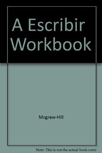 9780844270173: A Escribir! A Writing Workbook for Intermediate Spanish Students