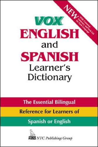 9780844270944: Vox English and Spanish Learner's Dictionary (Vox Dictionary Series)