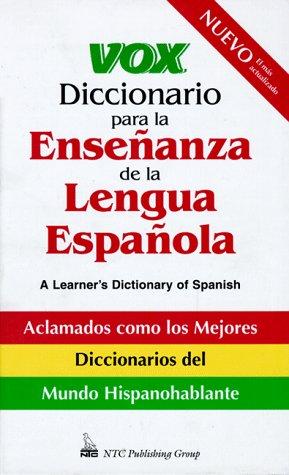 9780844270968: Vox Diccionario Para La Ensenanza De La Lengua Espanola