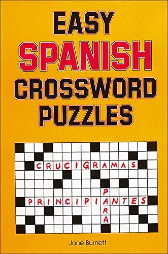 9780844272443: Easy Spanish Crossword Puzzles