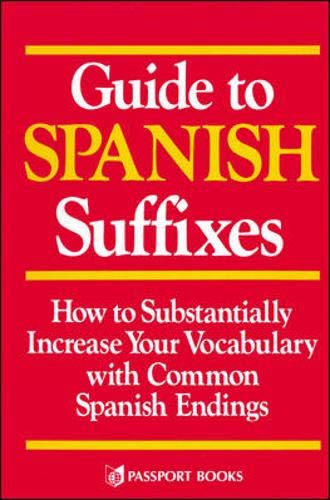 9780844273235: Guide to Spanish Suffixes (Language - Spanish)