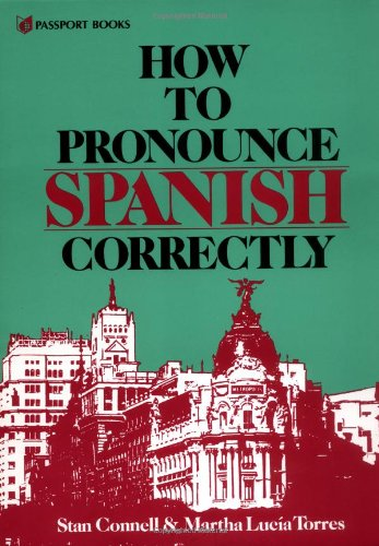 9780844274027: How to Pronounce Spanish Correctly