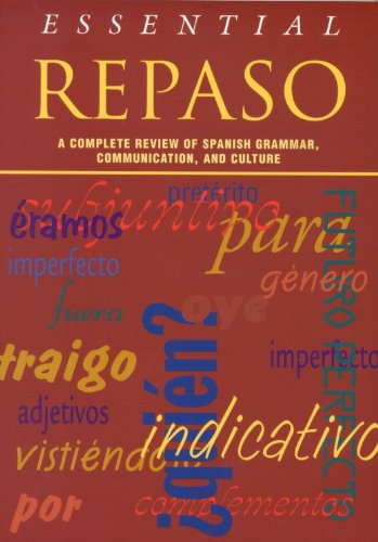 9780844274102: Essential Repaso: A Complete Review of Spanish Grammar, Communication, and Culture