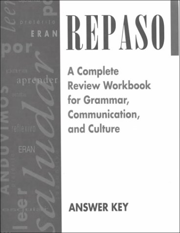 9780844274225: Repaso Answer Key (Spanish Edition)